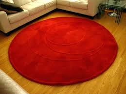 ikea solid red 5x7 area rug red