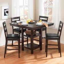 dining room table height. kitchen table-walmart canopy gallery collection 5 piece counter height dining room table e