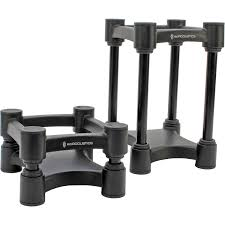 speakers and stands. isoacoustics l8r130 small home and studio speaker stands (pair) | performance audio speakers )
