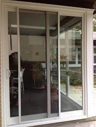 medium size of retractable screen door for sliding glass door french door screens home depot mirage