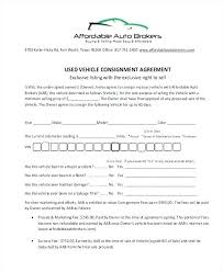 consignment form for cars consignment forms template puebladigital net