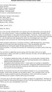 Cover Letter For Assistant Principal Assistant Principal Cover ...
