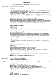 Construction Superintendent Resume Templates Building Superintendent Resume Thevillas Co With Entry Level