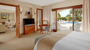 On Suite Bedroom The St Regis Mardavall Resort Mallorca Rooms And Suites