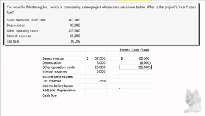 online cash flow calculator calculating annual project cash flow youtube