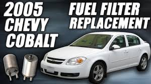 2005 Chevy Cobalt Fuel Filter Replacement [tutorial] - YouTube