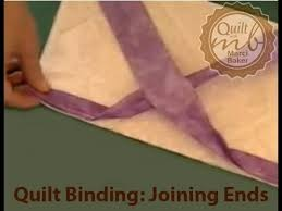 Quilt Binding: Joining Ends, Marci Baker of Alicia's Attic - YouTube &  Adamdwight.com