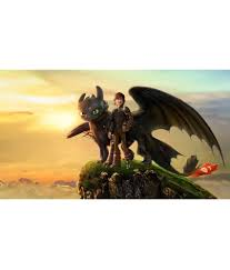 mahalaxmi art craft how to train your dragon canvas wall poster without frame