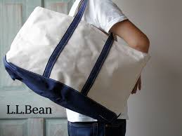 Image result for large llbean tote navy