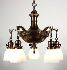 vintage brass chandelier sold wonderful antique five light brass chandelier with original glass shades early antique brass chandelier made in spain
