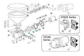 jabsco 37045 37245 series toilet service parts toilet parts jabsco 37045 37245 series toilet service parts