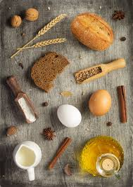 Bakery Ingredients On Wooden Background Photo By Seregam On Envato