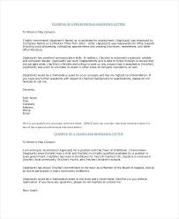 Letter Of Recommendation Format Phenomenal For Job Proper