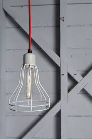 caged lighting. industrial lighting cage light pendant swag by indlights on etsy caged i
