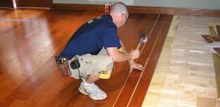 installing hardwood flooring over a radiant heating system