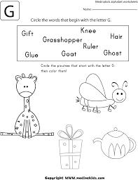 Worksheets Letter G Circle - earth day worksheets also letter k ...