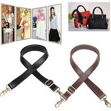 details about leather shoulder strap replacement satchel briefcase travel bag diy purse duffel