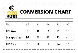 Size Chart For Kurta Krosskulture
