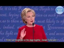 Learning English with The Future American President - The First Debate -  YouTube (With images)