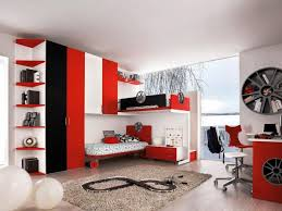 amazing bedroom awesome black. Amazing Black Red And White Sports Themed Bedroom Awesome T