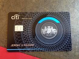 Citi Prestige New Card Design Im Prestigious Getting Citi Prestige And First Impressions
