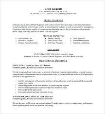 dental hygienist sample resume new grad assistant template 7 free word  excel format hygiene download
