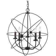 beau orb chandelier bronze large by ballard design havenly