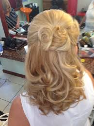 Mother Of Groom Hairstyles Half Updo For The Mother Of The Bride Hair Pinterest Half