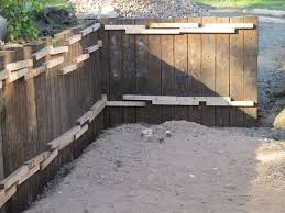Small Picture Timber Sleeper Retaining Wall Design for Garden Beds Home