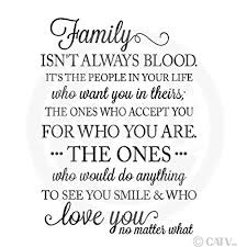 Family Isn T Always Blood Quotes Inspiration Amazon Family Isn't Always Bloodit's The People In Your Life