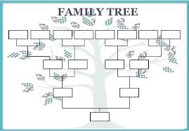 family tree layout excel family tree template family tree template download free