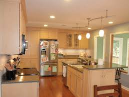 Quartz Countertops With Natural Maple Cabinets White Kitchen Wood