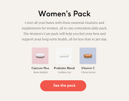What Vitamins To Take Together Chart The Best Vitamins For Women In Their 30s 40s 50s