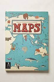 maps anthropologie ilrated map