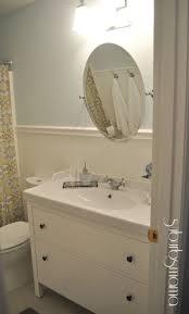 Bathroom Unique Pattern Of Bathroom Curtain And Minimalist Bathroom