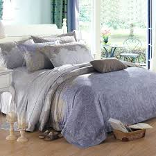 blue and gray bedding blue grey and brown royal paisley and bohemian shabby chic pattern cotton blue and gray bedding