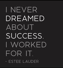Successful Quotes Beauteous Estee Lauder Success Quote