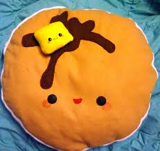 Awesome Pancake Pillow