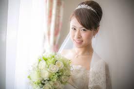 花嫁 髪型 定番 Utsukushi Kami