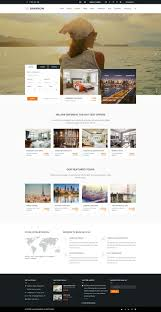 Booking Website Design Inspiration 10 Best Hotel Website Templates For Hotel And Travel Booking
