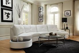 thick round sectional sofa