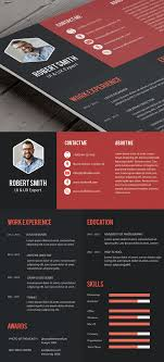 Creative Professional Resume Template Free Psd Free Psd Files