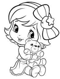 Download Cute Coloring Pages For Baby Background
