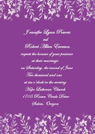 Romantic Purple Leaves And Butterfly Wedding Invites Ewi180 As Low