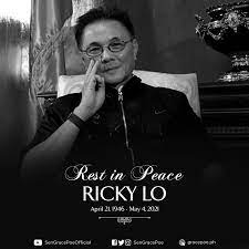 Grace Poe mourns death of Ricky Lo ...