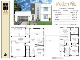 modern house designs floor plans 1261478567 pretty villas design 3