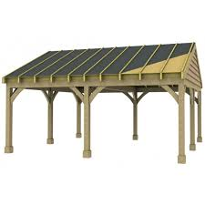 double carport upgraded with options