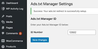 ads txt file