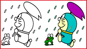Fujio which later became an anime series and a famous franchise. Doraemon Coloring Pages Doraemoncolouring Book Colors Videos For Kids Art Coloring Games 5 Youtube