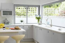Kitchen Design Ideas For Small country kitchen 2 Kitchen Decorative Window  Film Thrifty Decor Chick: Before and After Party: A k.